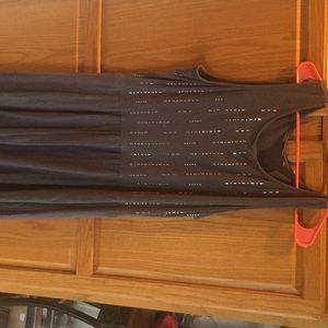 Apt 9 gray dress